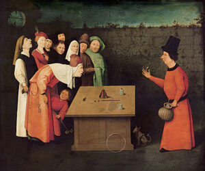 De goochelaar / The Conjurer (ca. 1502 of later) - Jeroen Bosch