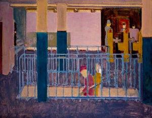 Entrance to Subway (1938) - Mark Rothko