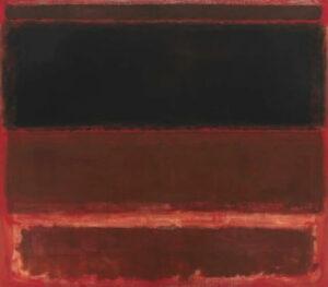 Four Darks in Red (1958) - Mark Rothko