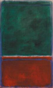 Green and Maroon (1953) - Mark Rothko