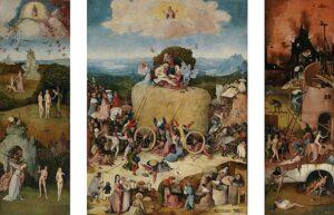 Hooiwagen-drieluik  / The Haywain (1515) - Jeroen Bosch