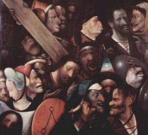 Belangrijkste werken van Jeroen Bosch: Kruisdraging / Christ Carrying the Cross (ci. 1510-1535) - Jeroen Bosch