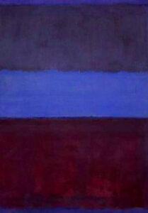 No. 61 (Rust and Blue) (1953) - Mark Rothko