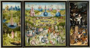 Tuin der lusten / The Garden of Earthly Delights (1480-1490)  - Jeroen Bosch