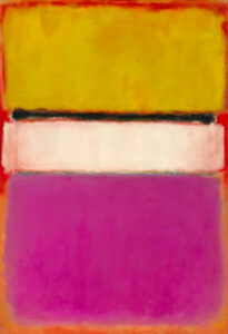 White Center (Yellow, Pink, and Lavender on Rose) (1950) - Mark Rothko