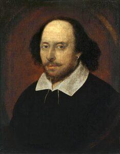 Top 100 Beste schrijvers ter wereld - William Shakespeare