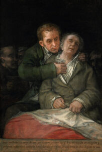 Zelfprotret met Dr. Arrieta Francisco Goya (1820) - Francisco Goya
