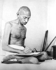 Gandhi in 1942