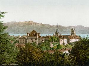 Lausanne rond 1900