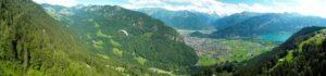 Panorama op Interlaken