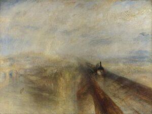 Rain, Steam and Speed (1844) - J.M.W. Turner