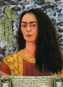 Zelfportret met het haar los / Self-Portrait with Loose Hair (1947) - Frida Kahlo