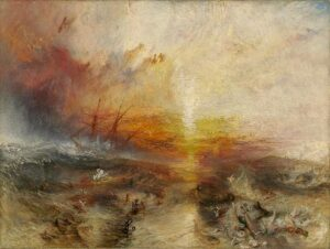 The Slave Ship (1840) - J.M.W. Turner