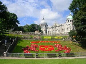 Union Terrace Gardens in Aberdeen