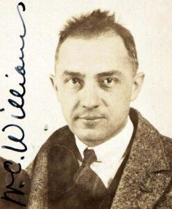 William Carlos Williams in 1921