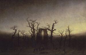 Abtei im Eichwald / Abdij in het eikenbos (1808 – 1810) - Caspar David Friedrich