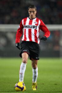 Afellay in actie voor PSV