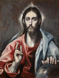 Christus de redder (1600) - El Greco