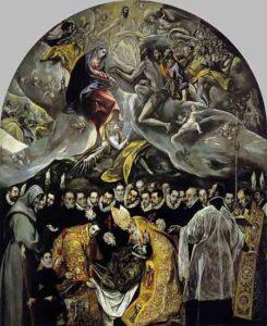 El entierro del conde de Orgaz / De begrafenis van de graaf van Orgaz (1586) - El Greco