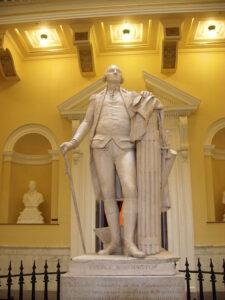 Jean Antoine Houdon - George Washington, Richmond, Virginia