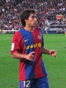 'Gio' bij FC Barcelona in 2006,