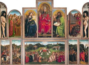 Het Lam Gods - Gebroeders Van Eyck (1432)