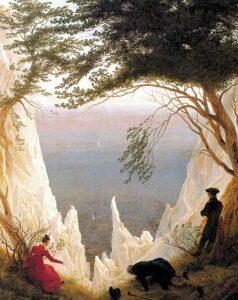 Kreidefelsen auf Rügen / Krijtrotsen op Rügen (1818 - 1819) - Caspar David Friedrich
