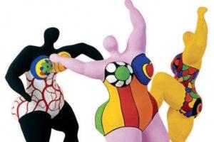 Les trois Grâces (1994) - Niki de Saint Phalle