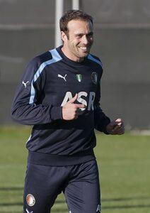 Mathijsen op de training bij Feyenoord in 2012