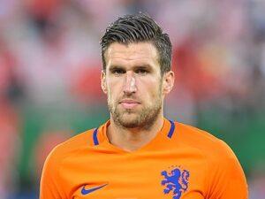 Strootman bij het Nederlands elftal in 2016