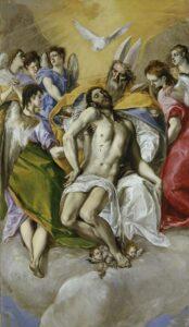 La Trinidad / De heilige Drie-eenheid (1577-1579) - El Greco