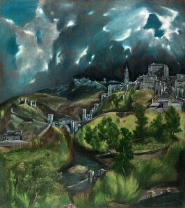Vista de Toledo / Gezicht op Toledo (c. 1599) - El Greco
