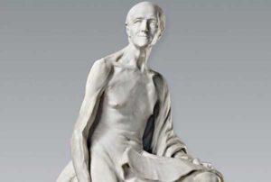 Voltaire nu (1776) - Jean Baptiste Pigalle