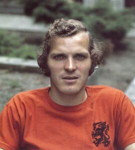 Willy van de Kerkhof in 1975
