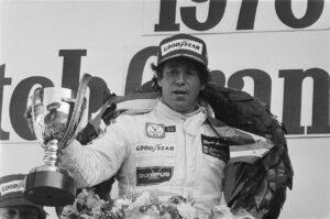 Andretti tijdens de Grand Prix van Zandvoort in 1978