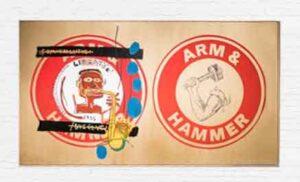 Arm and Hammer II (1985) - Jean-Michel Basquiat