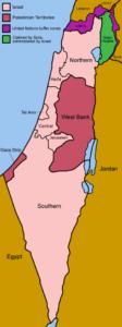 Districten van Israël