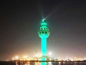 Hoogste vuurtorens ter wereld: de nr. 1: Jeddah Light - Saoedi-Arabië