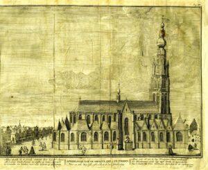 Grote of Onze-Lieve-Vrouwekerk voor 1694
