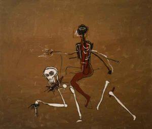 Riding with Death (1988) - Jean-Michel Basquiat