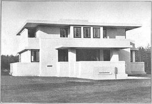 Villa Henny omstreeks 1918