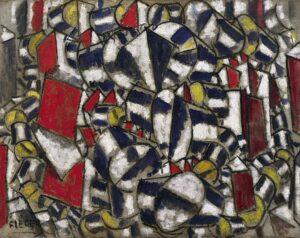Contraste de formes / Contrast van vormen (1913) - Fernand Léger