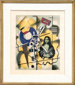 La Joconde aux Clés / Mona Lisa met de sleutels (1930) - Fernand Léger