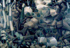 Nus dans la forêt / Naaktfiguren in het bos (1909-10) - Fernand Léger
