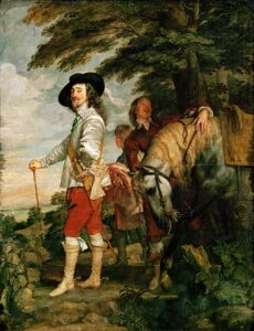 Le Roi á la Chasse / Charles I bij de jacht (1635) - Anthony van Dyck