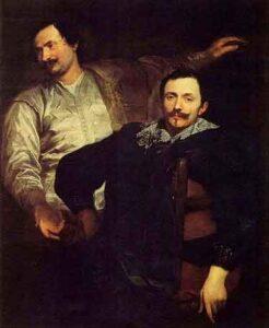 Lucas en Cornelis de Wael (c.1627) - Anthony van Dyck
