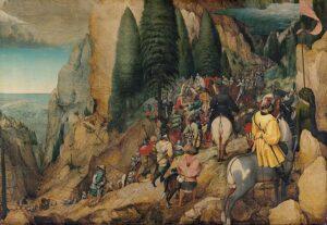 De bekering van Paulus (1567) - Pieter Bruegel de Oude