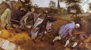 De parabel der blinden (1568) - Pieter Bruegel de Oude