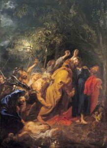 Het verraad van Christus (c.1620) - Anthony van Dyck