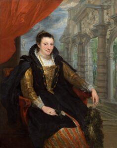 Isabella Brant (1621)- Anthony van Dyck
